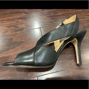 Michael Kors black heels size 8